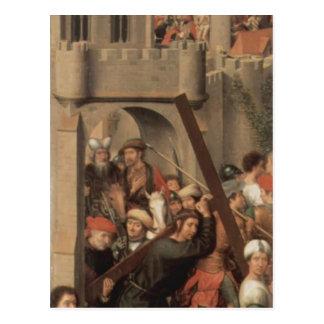 Tríptico del Memling-Altar de Hans de la catedral  Tarjeta Postal