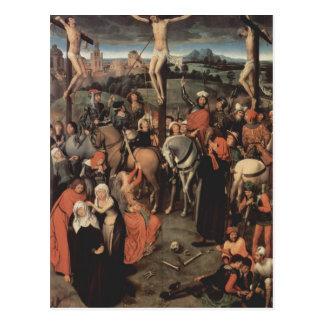 Tríptico del Memling-Altar de Hans de la catedral  Tarjetas Postales