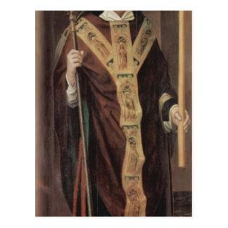 Tríptico del Memling-Altar de Hans de la catedral  Postal