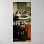 Tríptico, el panel izquierdo, Philipp Melanchthon Póster