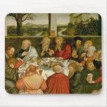 Tríptico, el panel izquierdo, Philipp Melanchthon Alfombrillas De Ratón