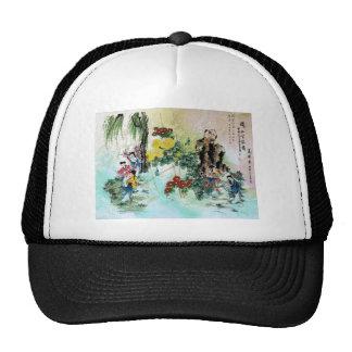TRIPTYCH ASIA VINTAGE TRUCKER HAT