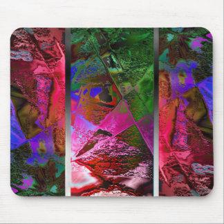 Triptych Chic Art Mousepad