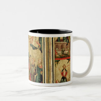 Triptych depicting the Crucifixion of Christ Mugs