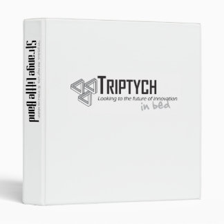 """Triptych... in bed"" binder"