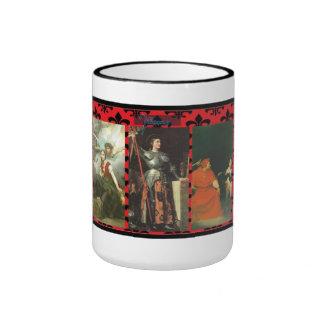 Triptych Joan of Arc mug