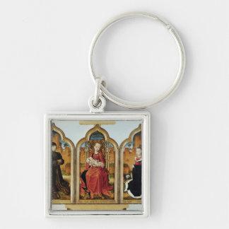 Triptych of Jean de Witte, 1473 Keychain