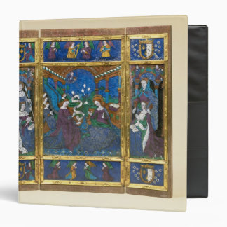 Triptych of Louis XII  and Anne de Bretagne Binder