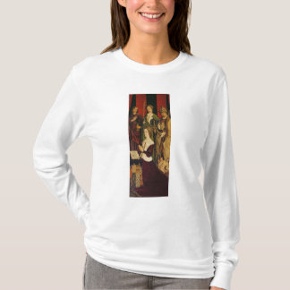 Triptych of Moses and the Burning Bush T-Shirt