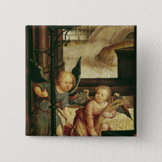 Triptych of the Adoration of the Child Pinback Button