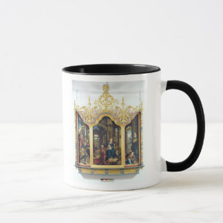 Triptych of the Adoration of the Infant Christ Mug