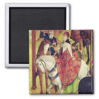 Triptych of the Crucifixion Magnet
