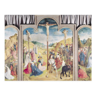 Triptych of the Crucifixion Postcard