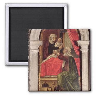 Triptych of the Madonna of the Misericordia, 1473 Magnet