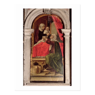 Triptych of the Madonna of the Misericordia, 1473 Postcard