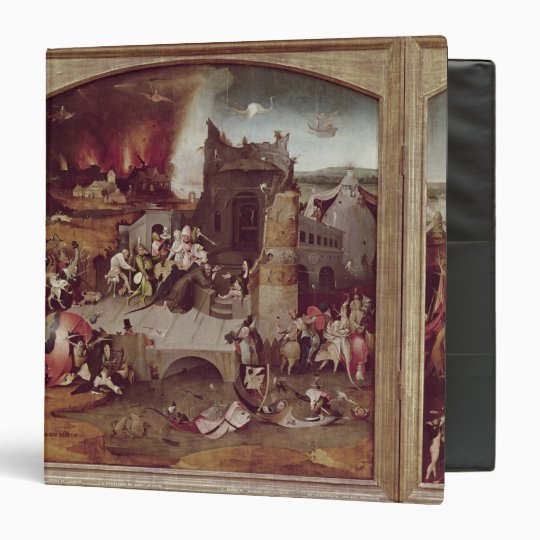 Triptych of the Temptation of St. Anthony Binder
