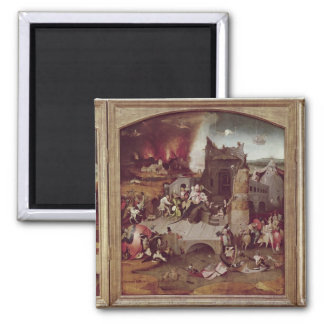 Triptych of the Temptation of St. Anthony Magnet