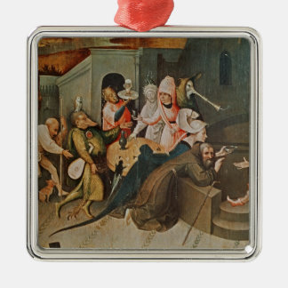 Triptych of the Temptation of St. Anthony Metal Ornament