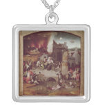 Triptych of the Temptation of St. Anthony Custom Necklace