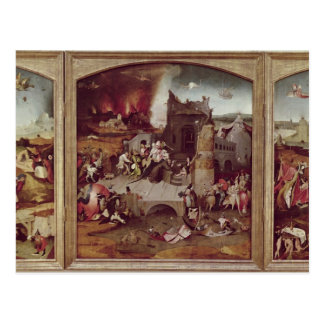 Triptych of the Temptation of St. Anthony Postcard