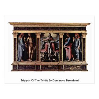 Triptych Of The Trinity By Domenico Beccafumi Postcards