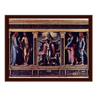 Triptych Of The Trinity Post Cards