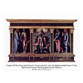 Triptych Of The Trinity Postcards