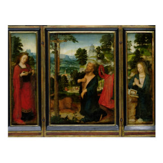 Triptych Post Card