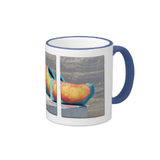Triptych, Santorini Ringer Mug