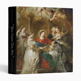 Triptych  Sv . Idelfonso Peter Paul Rubens oil Binder