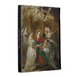 Triptych  Sv . Idelfonso Peter Paul Rubens oil iPad Folio Cases