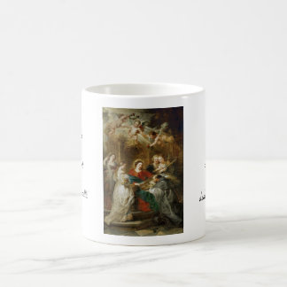 Triptych  Sv . Idelfonso Peter Paul Rubens oil Coffee Mug