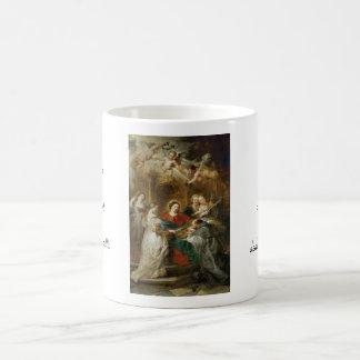 Triptych  Sv . Idelfonso Peter Paul Rubens oil Coffee Mug