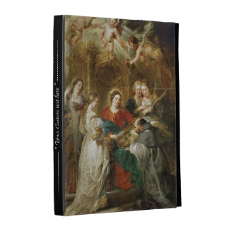 Triptych  Sv . Idelfonso Peter Paul Rubens oil iPad Cases
