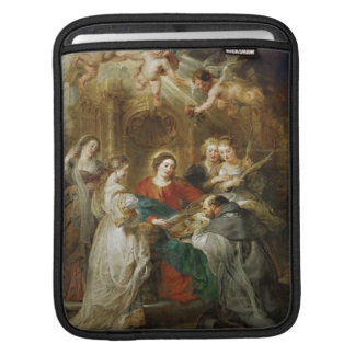 Triptych  Sv . Idelfonso Peter Paul Rubens oil iPad Sleeve