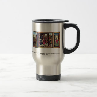 Triptych The Pearl Of Brabant 15 Oz Stainless Steel Travel Mug