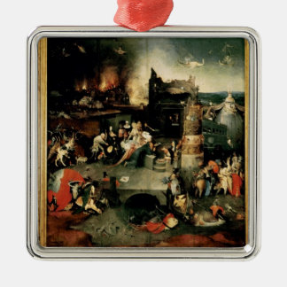 Triptych: The Temptation of St. Anthony Metal Ornament