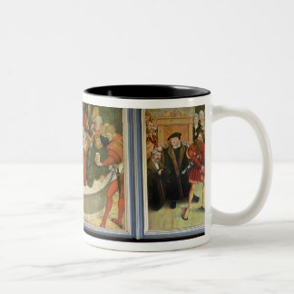 Triptych Two-Tone Coffee Mug