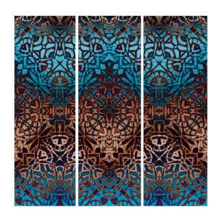 Triptych Wall Art Ethnic Tribal Pattern