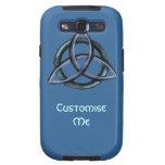 Triquetra (Blue) Galaxy S3 Cases