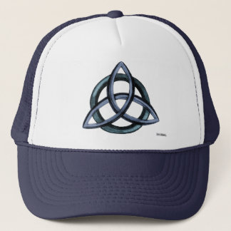 Triquetra  (Blue) Trucker Hat