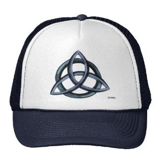 Triquetra  (Blue) Trucker Hat