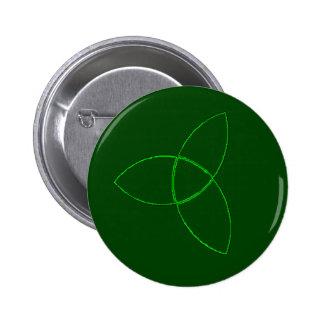 triquetra 2 inch round button