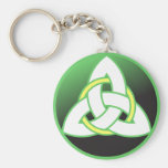 Triquetra Celtic Trinity Knot Key Chain