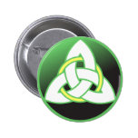 Triquetra Celtic Trinity Knot Pinback Button