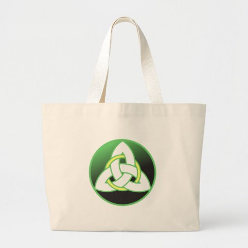 Triquetra Celtic Trinity Knot Tote Bag