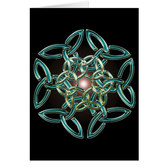 Triquetra Circle Knot Card
