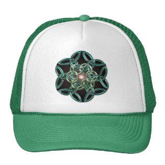 Triquetra Circle Knot Hat