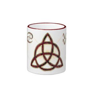 Triquetra Drinkware Ringer Mug