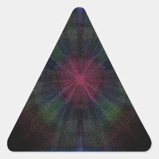 Triquetra-Explosion Triangle Sticker